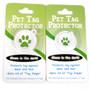 Holiday Polka Dots HD Pet ID Tag