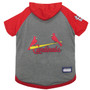 St. Louis Cardinals Hoodie T-Shirt For Dogs