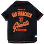 San Francisco Giants Tee Shirt For Dogs