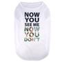 Now You See Me Camo Pet T-Shirt