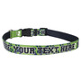 Personalized 12th Dog Green Dog Collar