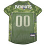 New England Patriots NFL Football Camo Pet Jersey