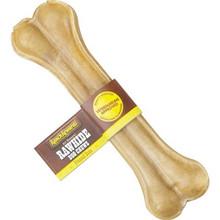 Premium Pressed Rawhide Dog Bones - 6 inch