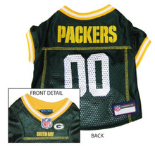 Green Bay Packers NFL Football ULTRA Pet Jersey