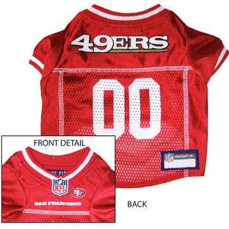 San Francisco 49ers NFL Football ULTRA Pet Jersey