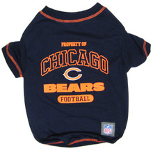 Chicago Bears NFL Football Pet T-Shirt