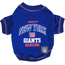 N.Y. Giants NFL Football Pet T-Shirt