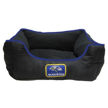 Baltimore Ravens NFL Football NESTING Pet Bed