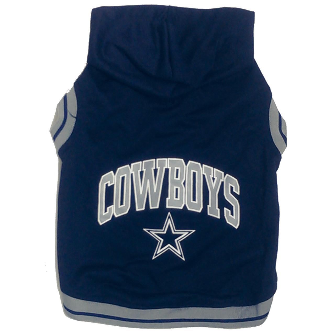 Dallas Cowboys Nfl Football Dog Hoodie At Hotdogcollars Com