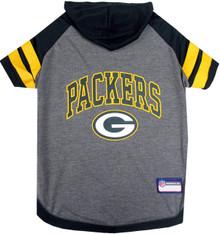 Green Bay Packers NFL Football Dog HOODIE