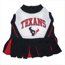 Houston Texans NFL Football Pet Cheerleader Outfit