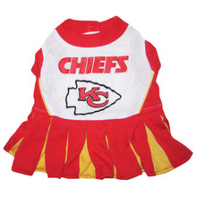 Kansas City Chiefs NFL Football Pet Cheerleader Outfit