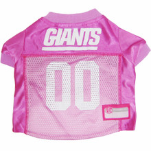 N.Y. Giants PINK NFL Football Pet Jersey
