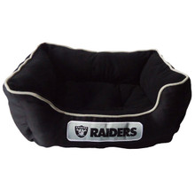 Oakland Raiders NFL Football NESTING Pet Bed