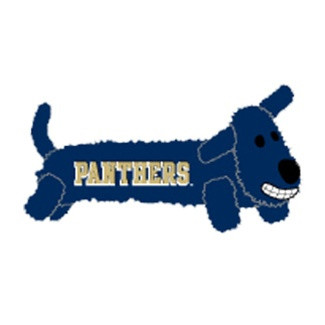 Pittsburgh Panthers Loofa Squeaker Dog Toy