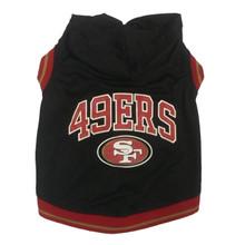 San Francisco 49ers NFL Football Dog HOODIE