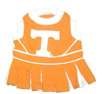 Tennessee Vols Dog Cheerleader Outfit