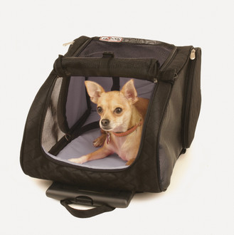 Snoozers 4-in-1 Roll Around Travel Pet Carrier Backpack