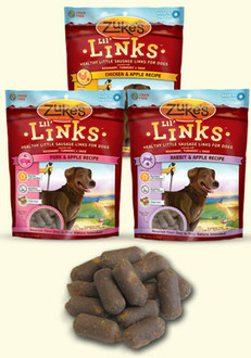 Zukes Lil Links Sausage Dog Treats