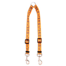 Tribal Seas Orange Coupler Dog Leash