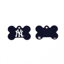 New York Yankees Pet ID Tag - With Engraving