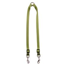 Solid Olive Coupler Dog Leash