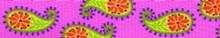 Pink Paisley Coupler Dog Leash