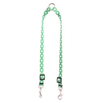 Lime Polka Dot Coupler Dog Leash