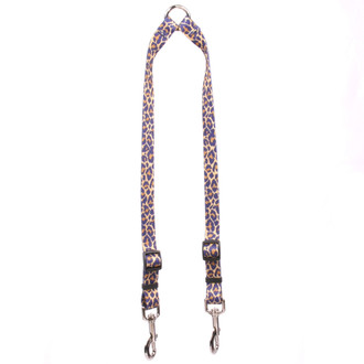 Leopard Skin Coupler Dog Leash