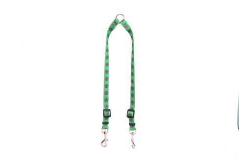Knotted Shamrock Coupler Dog Leash