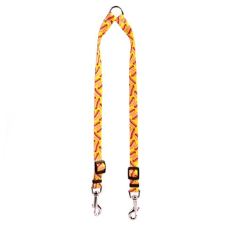 Hot Dogs Coupler Dog Leash