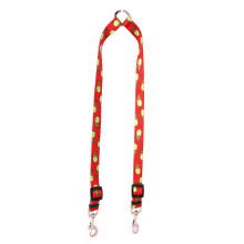 Holiday Stripes Coupler Dog Leash