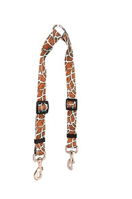 Giraffe Teal Coupler Dog Leash