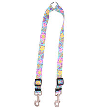 Flower Power Coupler Dog Leash