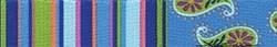 Blue Stripes Coupler Dog Leash