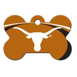 Texas Longhorns Engraved Pet ID Tag