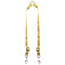 Bandana Yellow Coupler Dog Leash