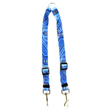 Bandana Blue Coupler Dog Leash
