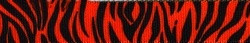 "Zebra Rust Roman Style ""H"" Dog Harness"