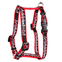 "Who Adopted Who Roman Style ""H"" Dog Harness"
