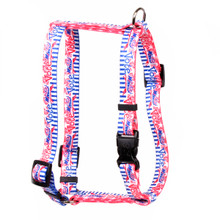 "Voter Dog Roman Style ""H"" Dog Harness"