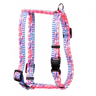 "Voter Dog Roman Style ""H"" Dog Harness"