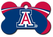 Arizona Wildcats Engraved Pet ID Tag