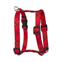 "Red Kilt Roman Style ""H"" Dog Harness"