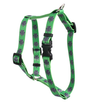 "Knotted Shamrock Roman Style ""H"" Dog Harness"