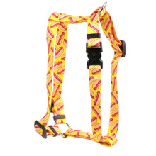 "Hot Dogs Roman Style ""H"" Dog Harness"