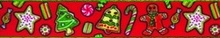 "Holiday Treats Roman Style ""H"" Dog Harness"