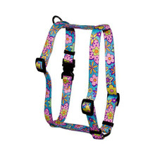 "Flower Power Roman Style ""H"" Dog Harness"