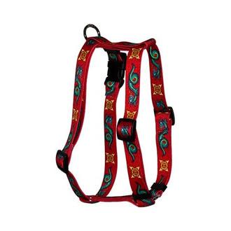 "Dragon Roman Style ""H"" Dog Harness"