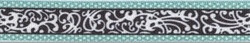 """Chantilly Teal Roman Style """"H"""" Dog Harness"""